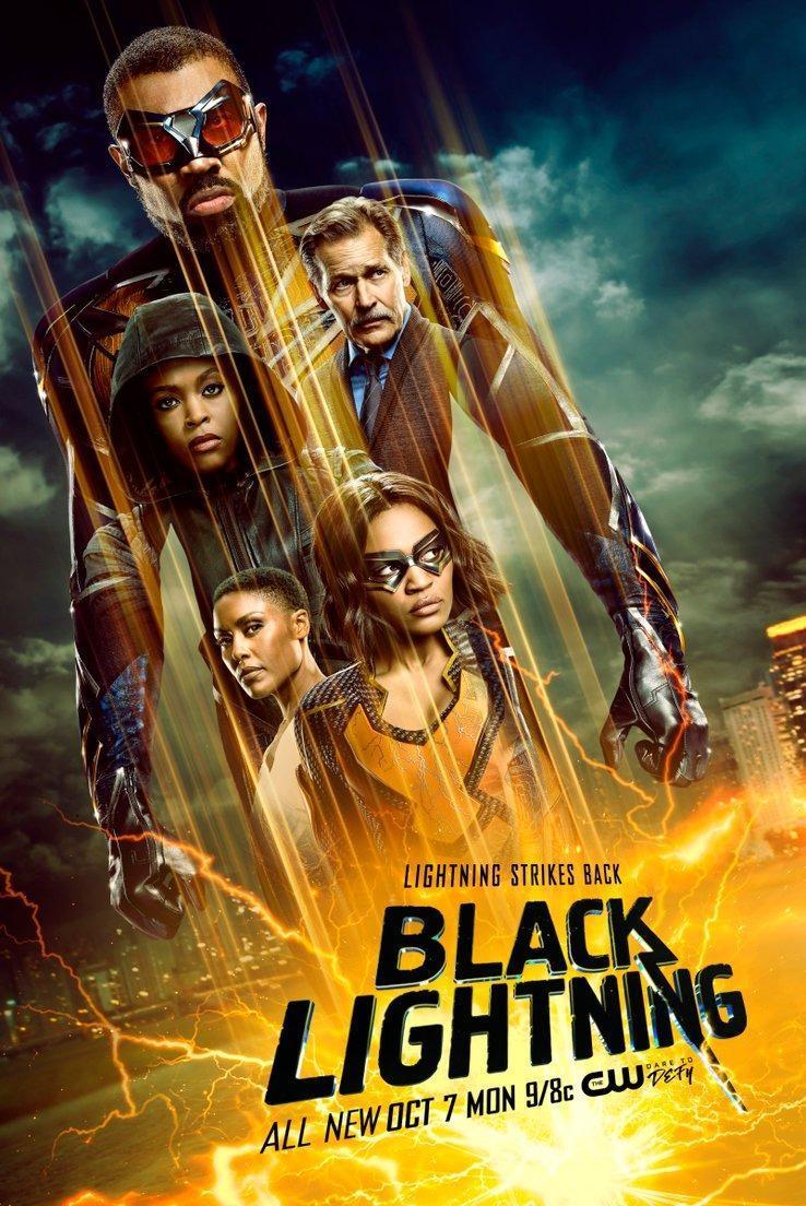 Black Lightning Temporada 4 Completa Dual Latino/Ingles