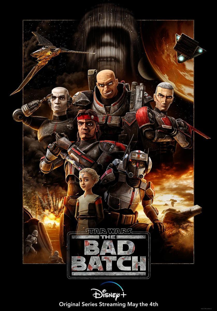 Star Wars: The Bad Batch Temporada 1 Dual 1080p